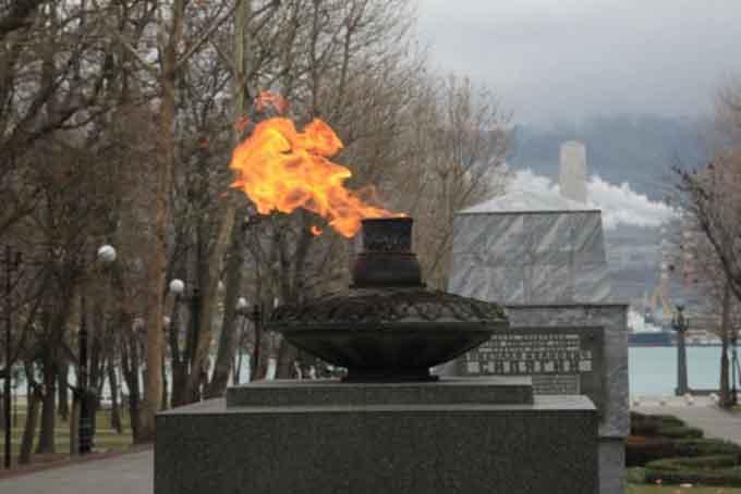Память о войне в мемориалах города-героя Новороссийск