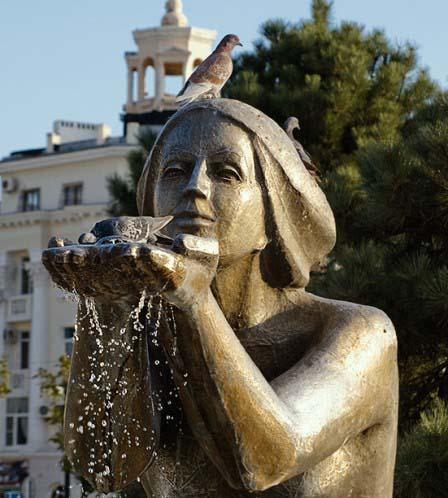 Фонтан «Дарующая воду»